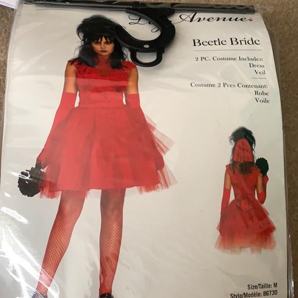 Beetlejuice bride costume